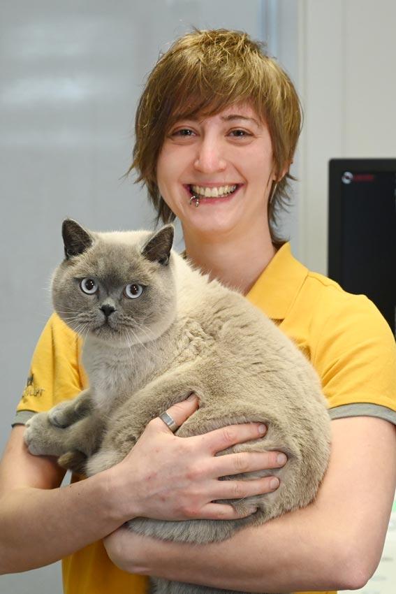 Gerti Peham Tierpflegerin